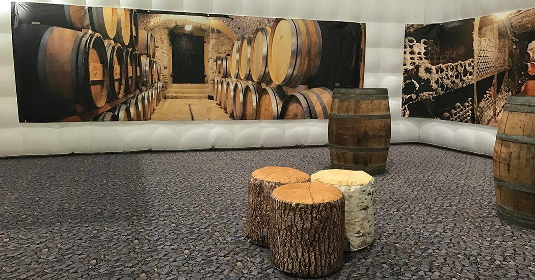 wijn proeven kameer en caravan jaarbeurs