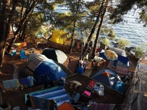 Kamperen in Kroatië. (Foto: Camping Punta)