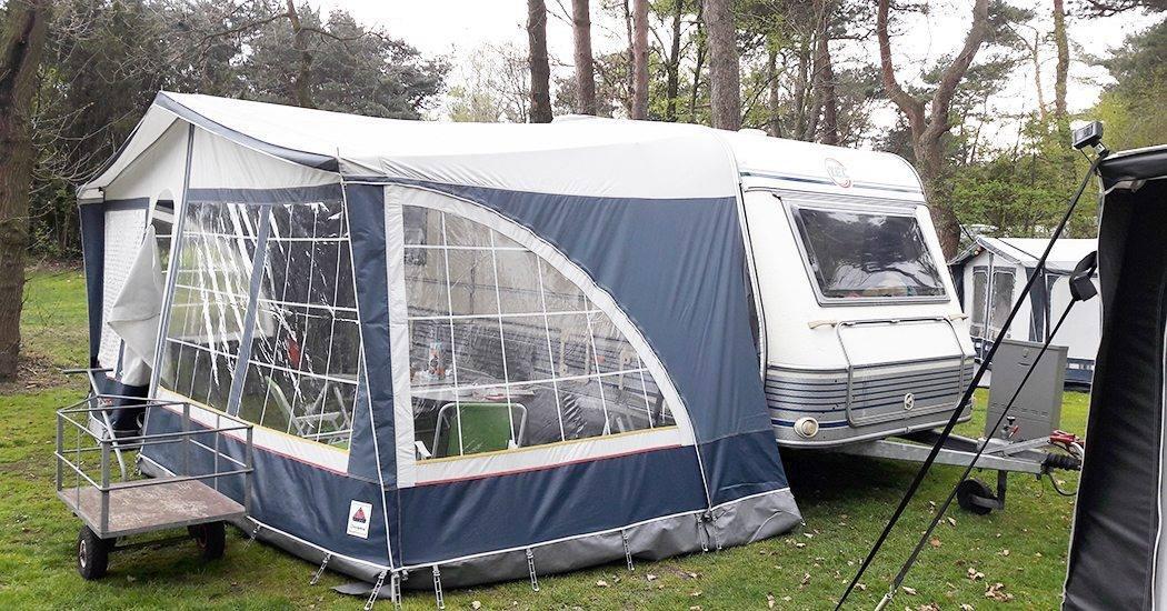 eerste keer kamperen caravan