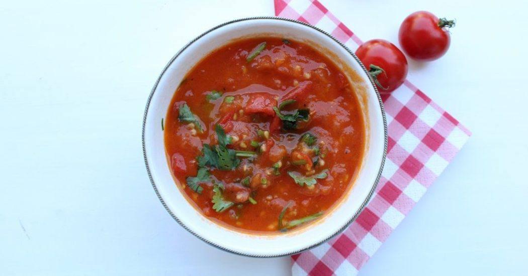 Slanke tomatensalsa