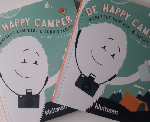 De Happy Camper Manfreds kampeer & survival gids