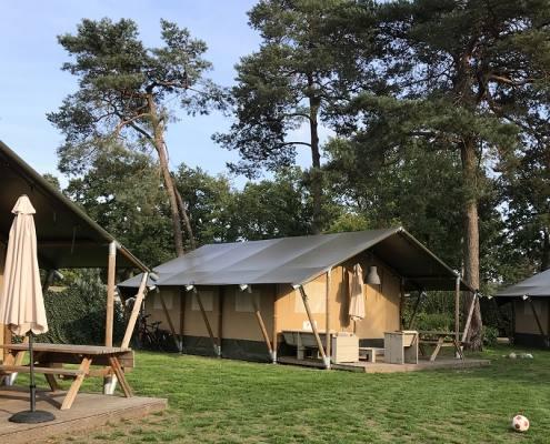 Camping De Poppe safaritenten