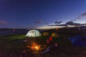 Camping eigen tent kind
