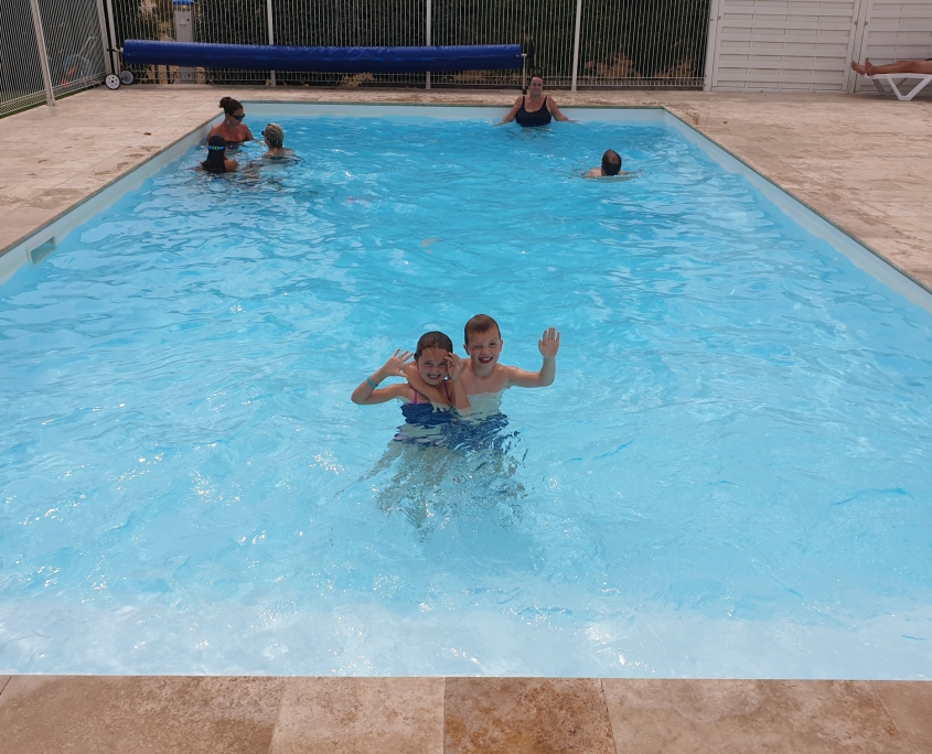 zwembad Camping de Sologne in Salbris.