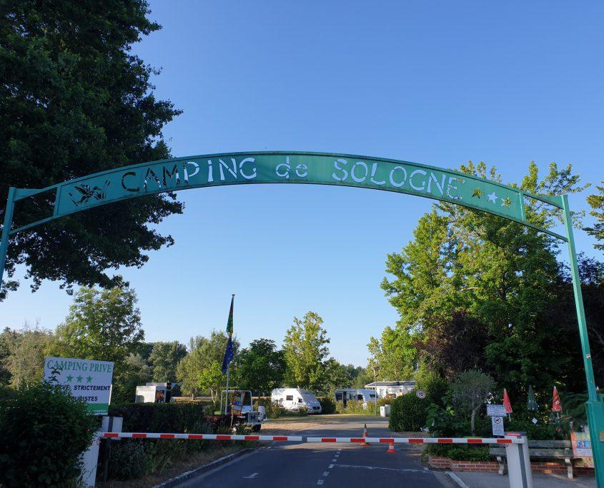 Camping de Sologne in Salbris.