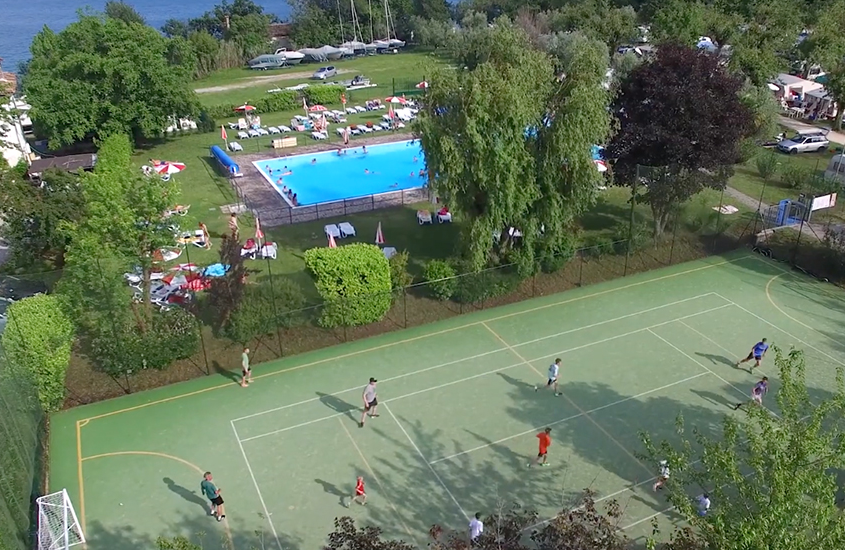 Camping Fornella voetbalkooi