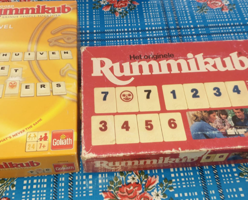 Spelletjes camping Rummikub